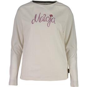 Maloja SotchaM. Maglietta maniche lunghe Donna, vintage white
